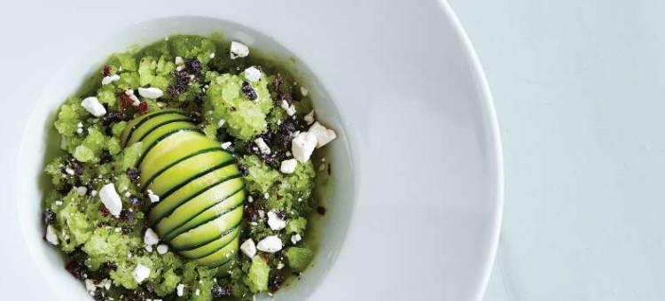 Opskrift fra Svinklv Badehotel: Olivenolie-is med rosmarin og squash