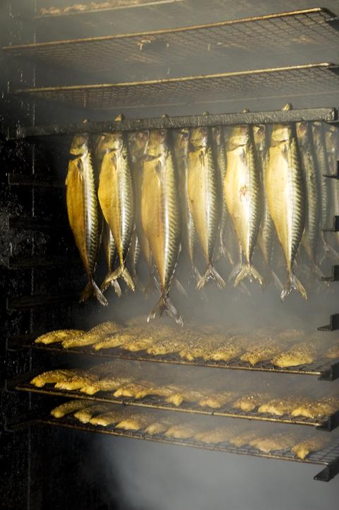 Nordbornholms Røgeri er et must spisested på Bornholm