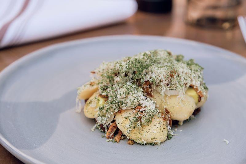 Palægade smørrebrød kartoffelmad i København