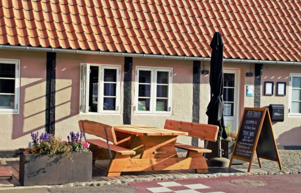 Restaurant Æblehaven i Snogebæk