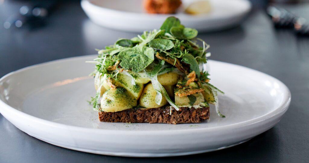 Den bedste kartoffelmad i københavn smørrebrød fra Almanak