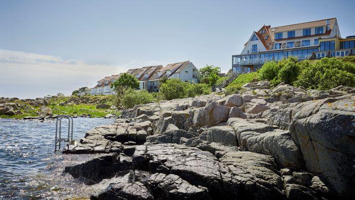 restaurant nordlandet på Bornholm